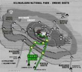 Kilimanjaro Umbwe Route (6 days)